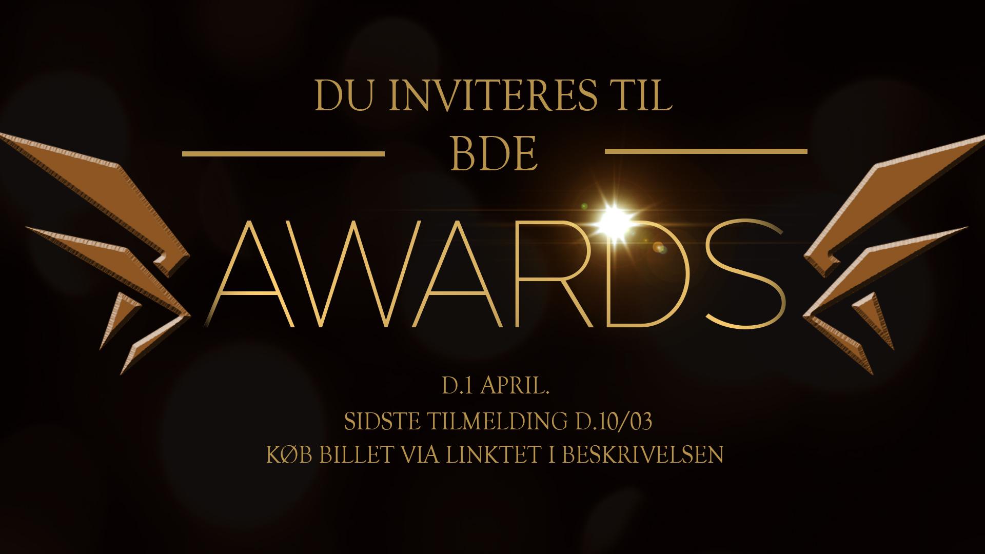 BDE AWARDS 2017